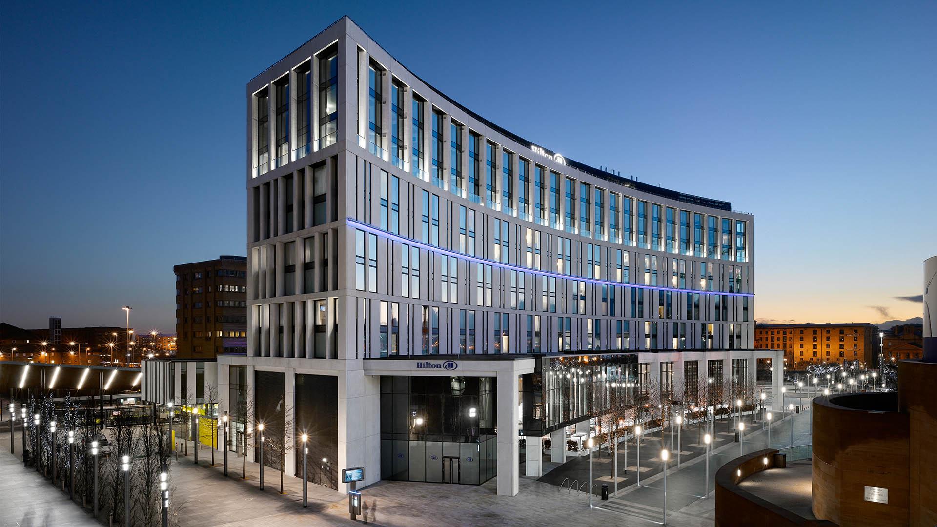 Hilton Hotel Liverpool | Hospitality | AHR | Architects ...